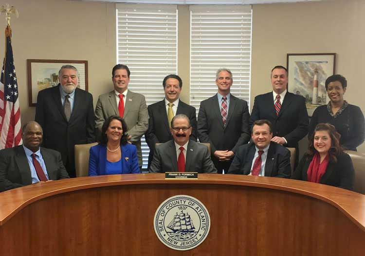 The 2017 Board of Chosen Freeholders