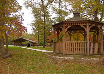 Veterans Cemetary Pavilion and Gazebo