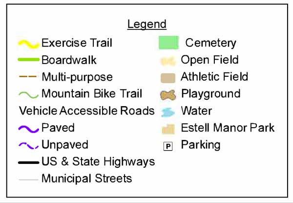 Trail Map Legend