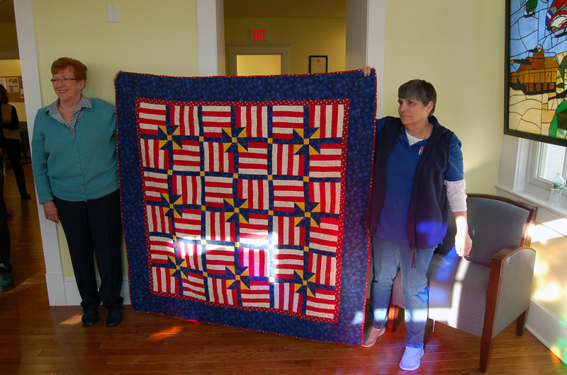 Quilts of Valor Presentation