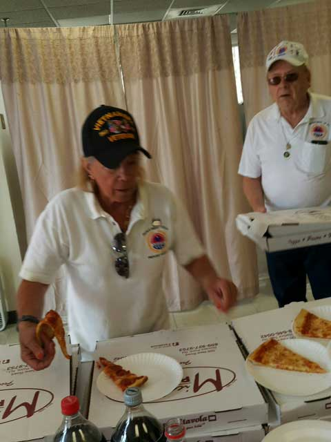 Pizza Party for Veterans