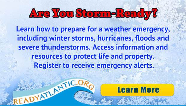 Learn how to prepare for a weather emergency, including winter storms, hurricanes, floods and severe thunderstorms. Access information and resources to protect life and property. Register for CodeRED to receive emergency alerts. Learn more[Button]